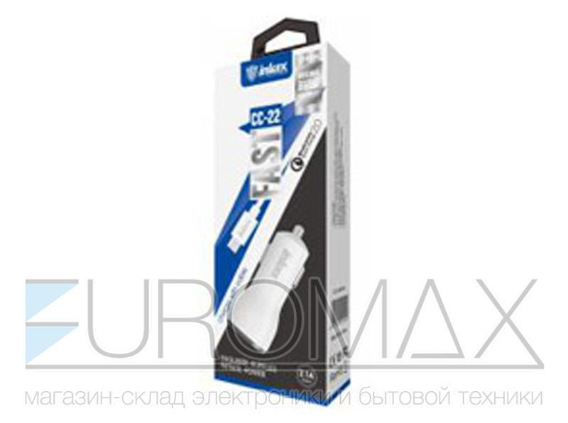 Зарядное устройство 12В 2,1А USB QC2.0 с кабелем USB - micro USB Inkax (уп. 20шт) 200шт CC-22-M-V8