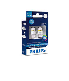 Philips X-treme vision LED T10 (W5W) 4000K