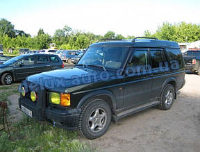 Ветровики Cobra Tuning на авто Land Rover Discovery II 1998-2004 Дефлекторы окон Кобра Ленд ровер Дискавери 2