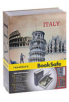 Книга сейф Италия средняя , оригинальный подарок