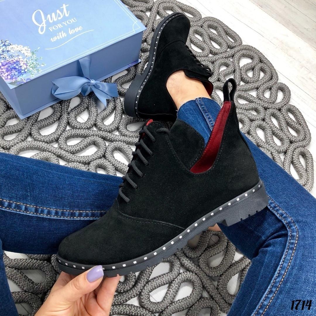 Короткие ботинки осень
