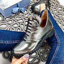 Ботинки кожаные короткие, фото 3