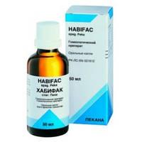 Хабифак Спаг Пека хронические заболевания кожи; склонность к аллергическим реакциям(30мл., Германия)