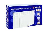Биметаллические радиаторы отопления Kalde 500/100