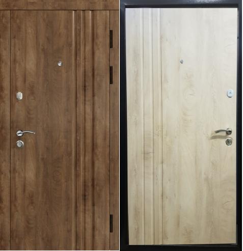 """Двери входные """"Стильные двери"""" серия Эталон Трио"""