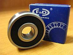 Підшипник F&D 6301RS (12х37х12 мм)