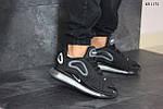 Мужские кроссовки Nike Air Max 720 (черные), фото 5