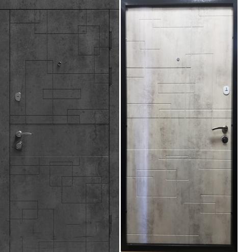 """Двери входные """"Стильные двери"""" серия Эталон Лабиринт"""