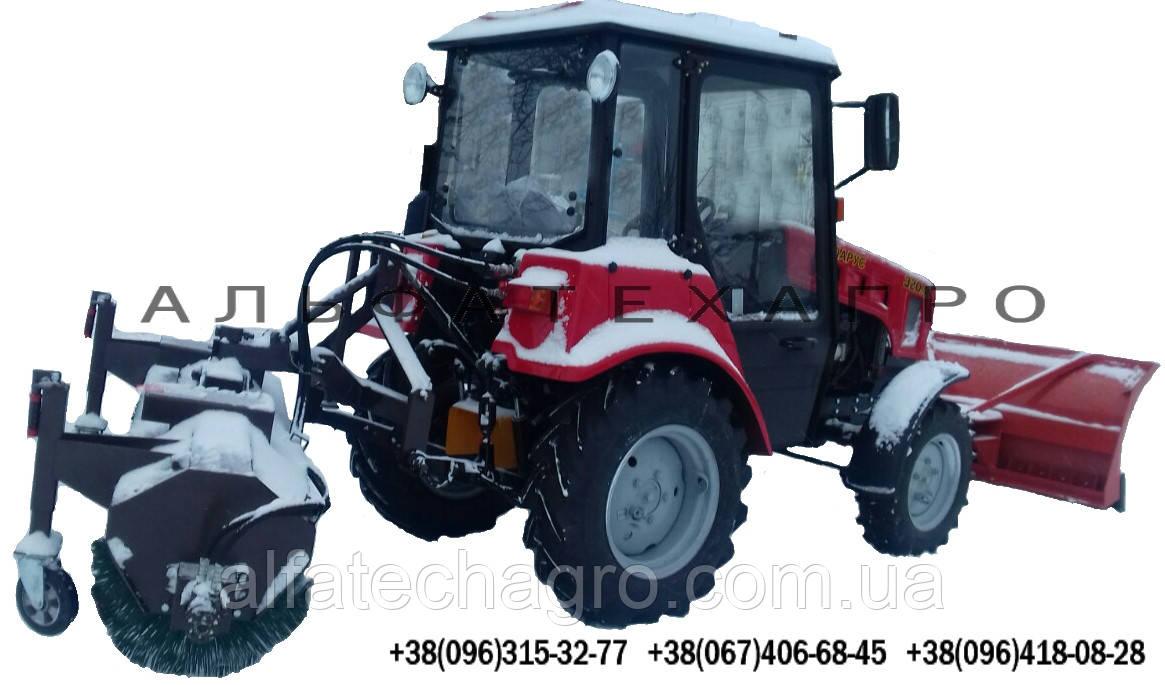 Щетка дорожная (коммунальная) к мини тракторам
