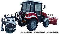 Щетка дорожная (коммунальная) к мини тракторам, фото 1
