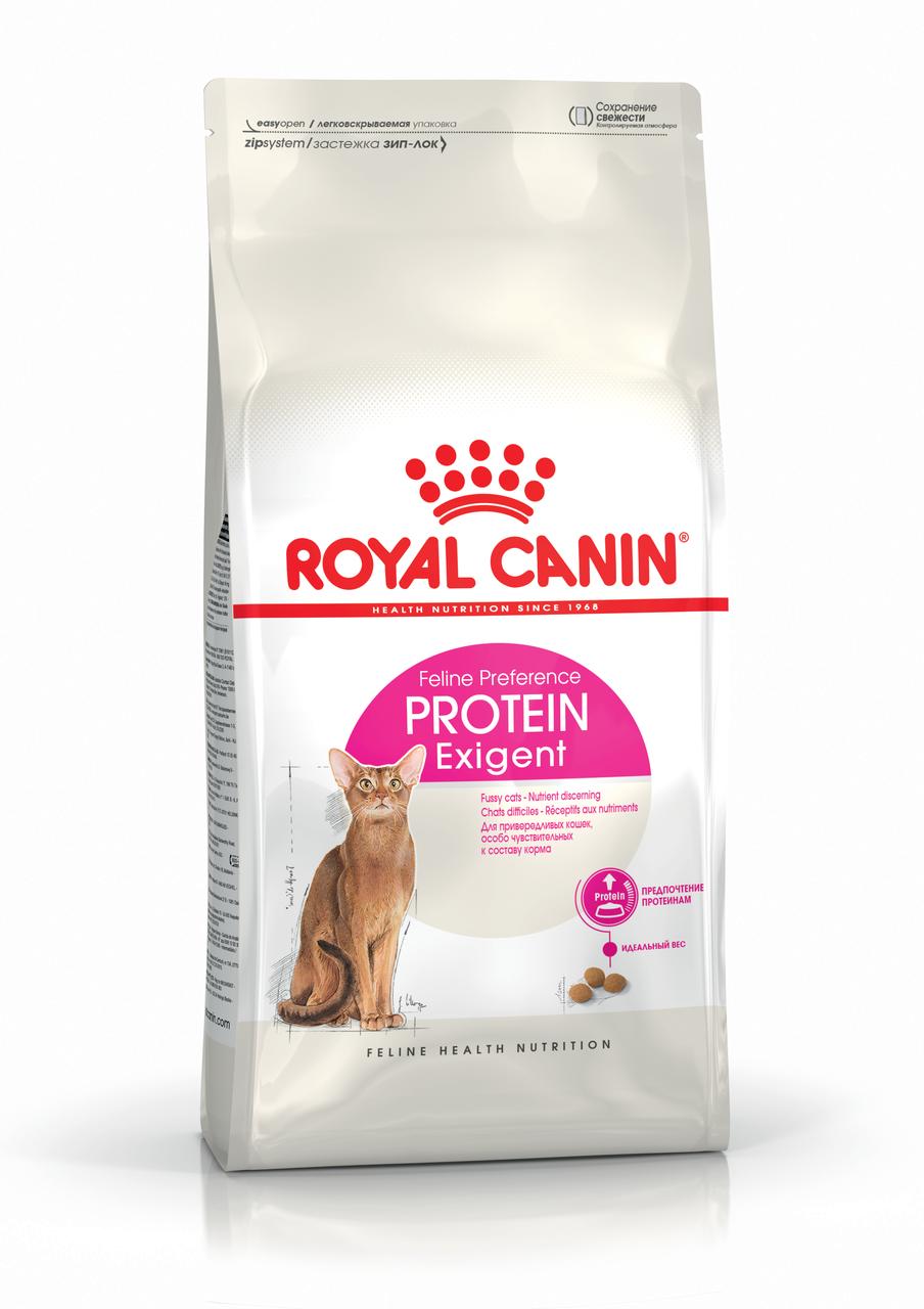 Корм для кошек привередливых к составу продукта Royal Canin EXIGENT PROTEIN 0,4 кг