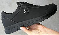 Jordan гигант ! Мужские кожаные кроссовки большого размера 46,47,48,49,50 в стиле Джордан, фото 1