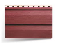 Сайдинг двухпереломный стеновой; 3,66х0,23;красный; Канада Плюс, премиум
