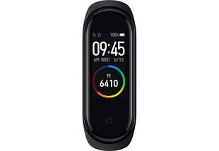 Фитнес трекер Mi Smart Band 4 смарт браслет черный (Black) РЕПЛИКА, фото 3