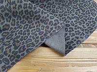 """Кожа натуральная с принтом """"Leopard"""" т. 0.9-1,2мм цвет коричневый"""