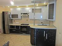 Стильный кухонный набор мдф, фото 1