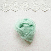 Волосы для Кукол Короткие Трессы МЯТА 5 см