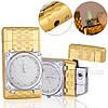 Подарункові запальничка годинник металева ZG320986