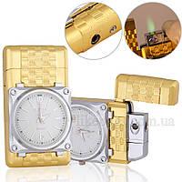 Подарункові запальничка годинник металева ZG320986, фото 1