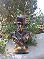 Скульптура- бюст Наполеона из бронзы. Производство- Испания.Эксклюзив'