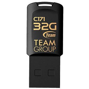 Флеш-накопитель Team 32GB C171 (TC17132GW01) Black для передачи и хранения информации