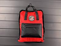 Рюкзак красный аля Kanken/Aepe now! classic, классик реплика, фото 1
