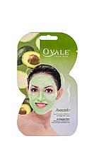 Ovale. Маска для придания упругости и разглаживания кожи лица с экстрактом авокадо и витаминами С, Е.