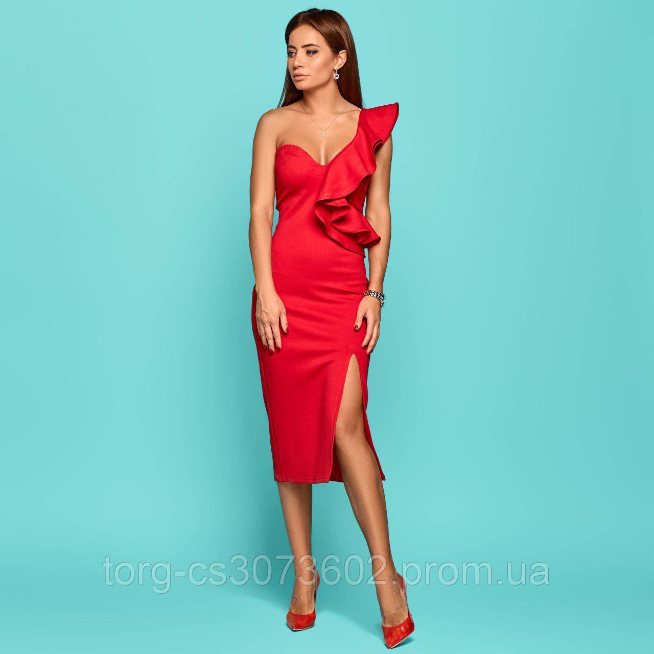 Женское платье из джерси №553
