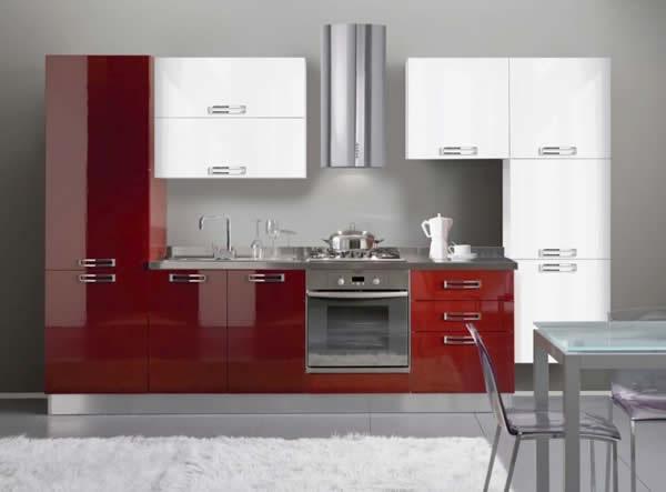 Двухцветный кухонный набор