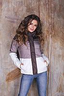 ВА71144 Женское  куртка с капюшоном осень/весна