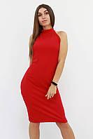 S, M, L / Коктейльне жіноче плаття Golden, червоний