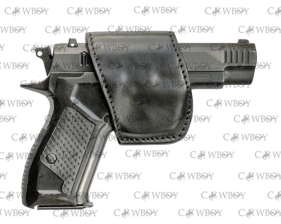 """A-line поясная кобура К14 для Форт-12 """"лепесток"""" кожаная"""