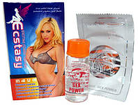 Возбудитель для женщин Ecstasy капли и порошок, 9 фл по 10 мл + 9 пакетиков