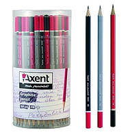 Карандаш НВ Axent 9000-A, цвета ассорти, 14498