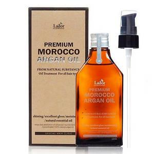 Масло для волос аргановое Lador Premium Morocco Argan Oil 100 мл.