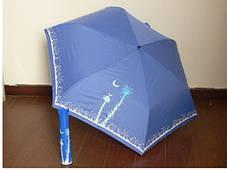 Оригинальный подарочный зонт в футляре Роза в вазе, фото 2