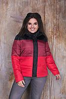 """Женская куртка больших размеров """" Разноцвет """" Dress Code, фото 1"""