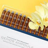 Ампулы для восстановления волос Erba Genos Ampule, упаковка