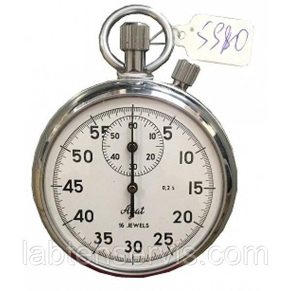 Секундомер механический 2-кнопочный СОСпр-2б-2-000, 2 класс точности