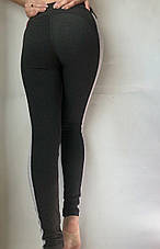 Леггинсы женские из двунитки № 55 серый, фото 3