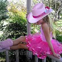 Юбка-пачка пышная юбочка балерины на 2-8 лет МАЛИНОВЫЙ