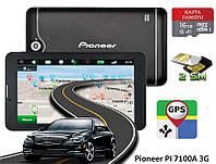"GPS навигатор 7"" 3G Pioneer PI 7100A 16GB Android + КАРТА ПАМЯТИ 16GB"