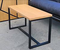 Стол металл Лофт мебельный щит