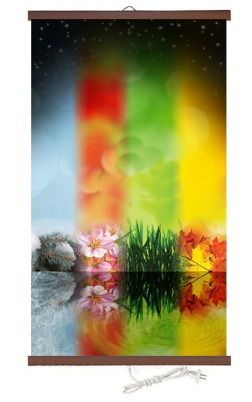 Купить Обогреватель-картина инфракрасный настенный ТРИО 400W 100 х 57 см, сезоны, Трио
