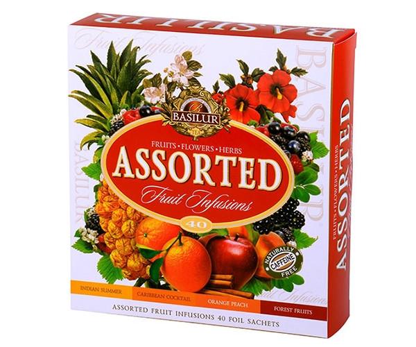 Набір фруктового чаю Basilur Асорті 40х1,8 г