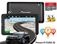 "GPS навигатор 7"" 3G Pioneer PI 7100A 16GB Android + КАРТА ПАМЯТИ 32GB"