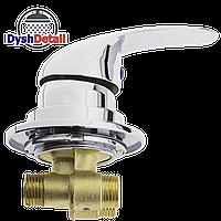 Смеситель для гидромассажной ванны и скрытого монтажа (ДЖ-6101) встраиваемый в изделие