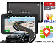 "GPS навигатор 7"" 3G Pioneer PI 7100A 16GB Android + КАРТА ПАМЯТИ 64GB"