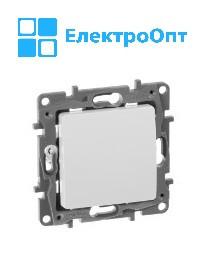 Выключатель одноклавишный Etika LEGRAND 10 АХ - 250 В~ белый 672201