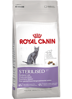 Сухой корм (Роял Канин) Royal Canin Sterilised 0.4 кг для стерилизованных кошек в возрасте от 1 до 7 лет